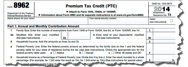 The New Form 1095 A Reporting Health Insurance Coverage Cdm